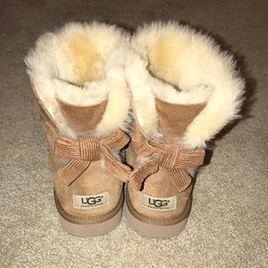 UGG low cut boots with bow